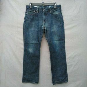 Gap straight leg jeans 35 X 30